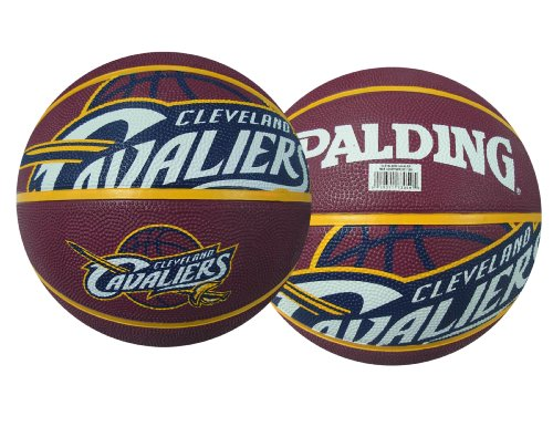 Spalding NBA Cleveland Cavaliers Courtside Rubber Basketball