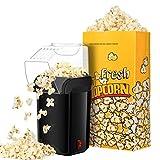 Best Hot Air Poppers - Popcorn Machine, TOPELEK Oil Free Air Popcorn Maker Review