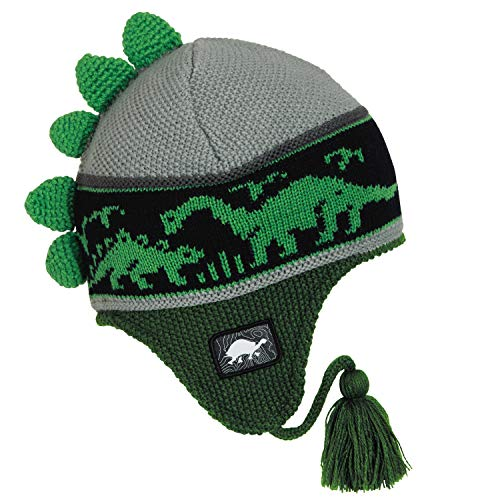 8caeba0016d Turtle Fur Kids Dr. Dino Dinosaur Fleece Lined Winter Hat