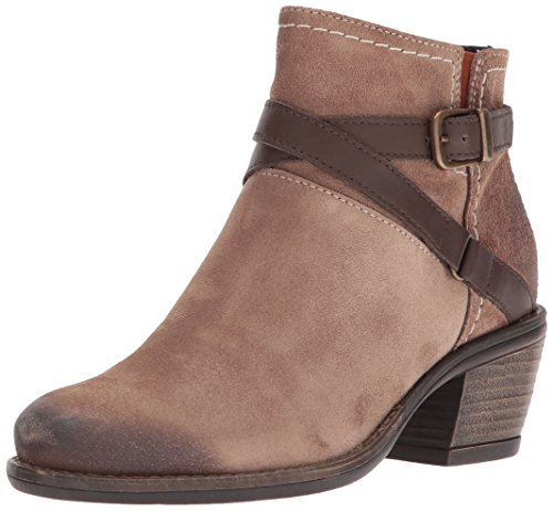 Bos. & Co. Womens Greenville Western Boot Taupe / Nougat Suede / Miami