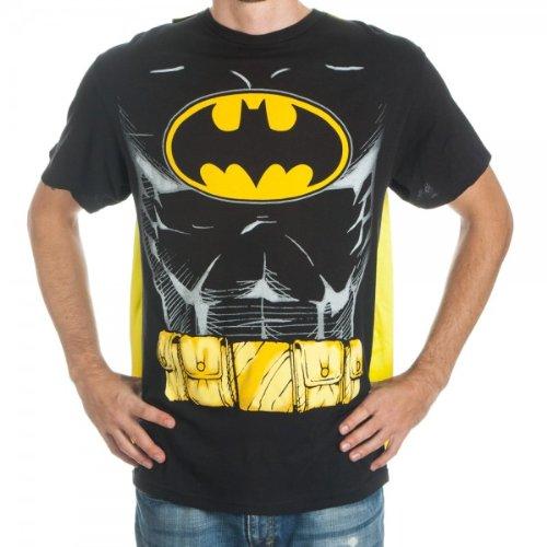 Batman Men's Black Cape T-Shirt XXL