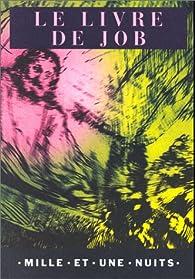 Le Livre de Job par Isaac Lemaistre de Sacy