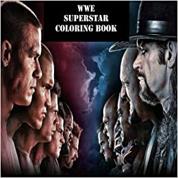 Amazon Com The Wwe Superstar Coloring Book The Best