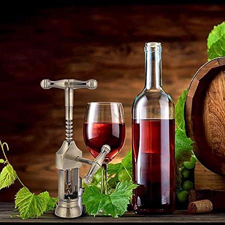 Abrelatas De Vino, Sacacorchos Manual De Gama Alta Para Vino, Sacacorchos Multifuncional De Aleación De Zinc, Para Cocina, Restaurante, Taberna, Bar