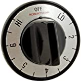 BLOOMFIELD Standard-Duty Electric Thermostat Dial Off, Low, 1 to 7, High 6710-108