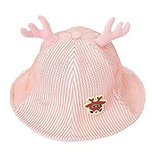 ss Baby Dibujos Animados astas Gorros y Sombreros algodón,Pink ...