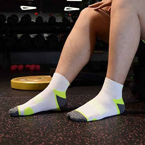 Chaussettes Et De Chaussette Multicolor Pour Sport Meikan Course 5 Paires Running Femme homme dU8Iw