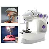 Electric Handheld Sewing Machines Double Thread Multifunction Automatic Tread Rewind Sewing Machine