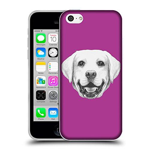 GoGoMobile Coque de Protection TPU Silicone Case pour // Q05370621 Portrait labrador byzantin // Apple iPhone 5C