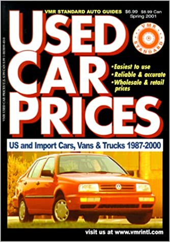 Read online VMR Standard Used Car Prices (April 2001) (VMR Standard Auto Guides) PDF, azw (Kindle), ePub, doc, mobi