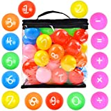 Youngever 60 Pack Pit Balls, Phthalate Free BPA Free Crush Proof Plastic Ball, Bright Colors Ball Pit, Fun and Educational