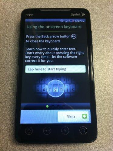 Sprint HTC Evo 4g Smart