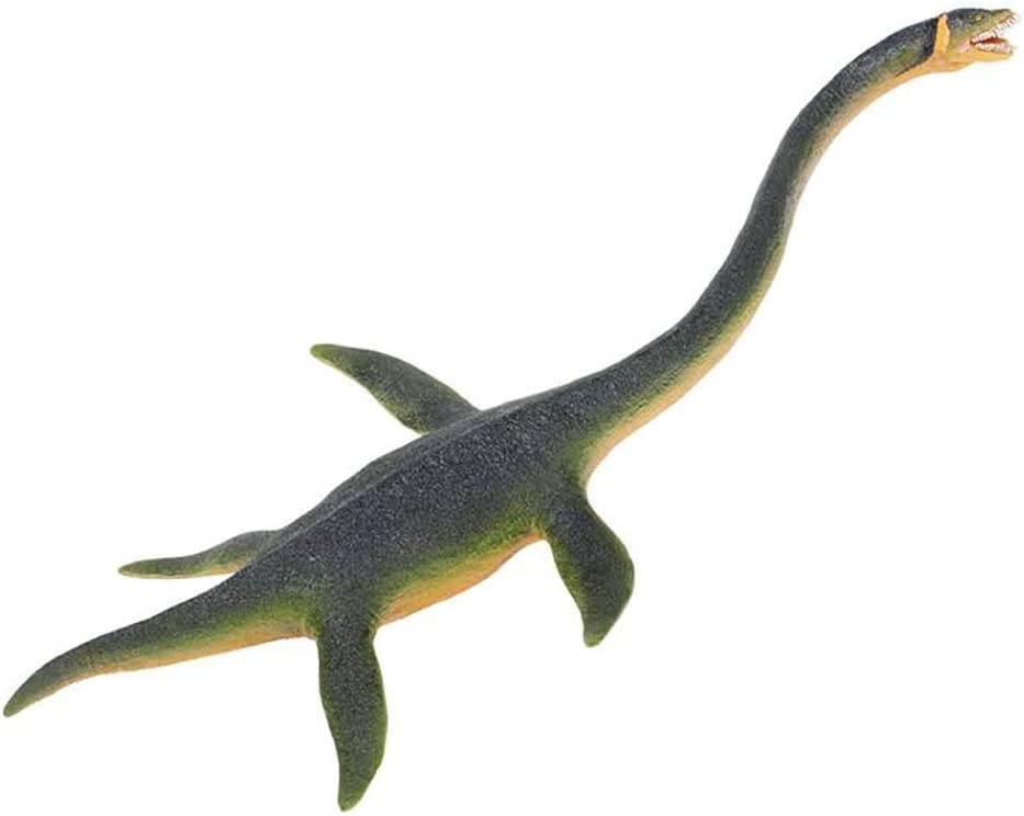 Safari Ltd Wild Safari Elasmosaurus – Realistic Individually Hand-Painted Toy Figurine Model – Quality Construction from Phthalate and Lead-Free Materials – For Ages 3 And Up