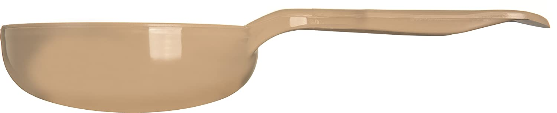Beige Carlisle 435806 Solid Long Handle Portion Control Spoon 1.5 oz