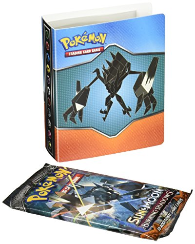 Sun & Moon (burning shadows) SM3 MINI collector's album, holds 60 cards(With bonus BOOSTER pack , may vary)