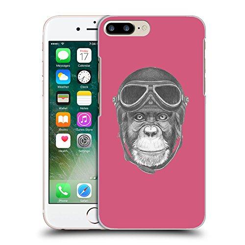 GoGoMobile Coque de Protection TPU Silicone Case pour // Q05290614 Pilote singe Rougir // Apple iPhone 7 PLUS
