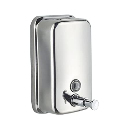 e 1000ml classic series stainless steel manual wallmount soap