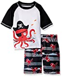 Best Octopus Bathing suits - Wippette Toddler Boys' Octopus 2PC Rashguard Set, Red Review