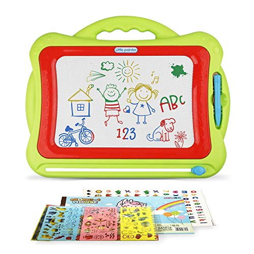 (Little Picasso Magnetic Drawing Board For Kids - Large 16.3