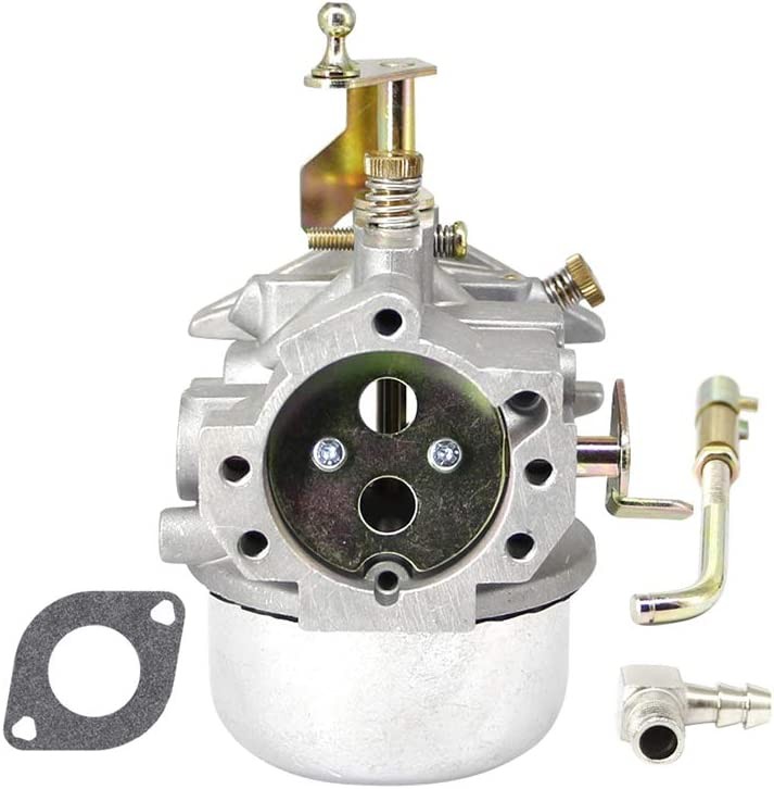 Carburetor Carb for Kohler K321 K341 Cast Iron 14hp 16hp Carburetor with k241 Gasket kit Choke Shaft Replace 45 853 09-S