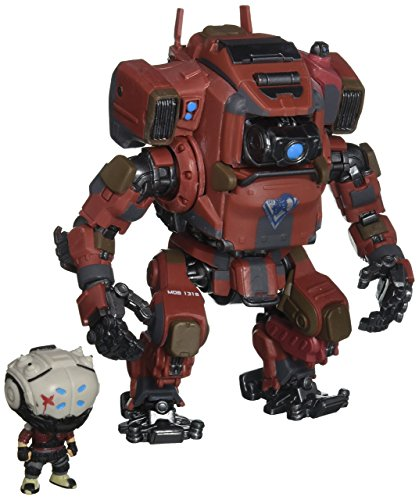 Funko Pop Titanfall 2 Collection - Includes Sarah and Mob 1316 - Bring The Action Game into Reality with These Figurines - Functional Control Compartment for Sarah - Detailed Design ()