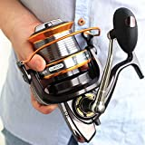 Zoostliss 13BB New 9000 All Metal Line Cup Big Long Shot Round Fishing Reel Fishing Boats Sea Anchor Rod Reels For Sale