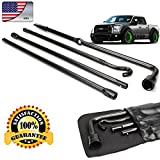 ford jack tool kit - Truck Spare Tire Changing Repair Tool for Ford F150 2004-2014 Car Wheel Remove Jack Replace Irons OEM Lug Nut Wrench Extension 4Pcs Kit Set with Bag US Ship