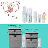 Luxja Double-Layer Breastmilk Cooler Bag