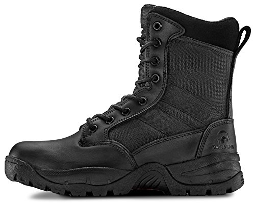 Maelstrom Tac Force 8'' Women's Black Waterproof Boots With Zipper – Military, Work & Tactical Boots – Athletic, Breathable, Durable, Comfortable & Lightweight Boots For Women, Size 8.5M by Maelstrom (Image #2)