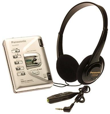 Panasonic RQNX60V Compact Personal Stereo with Single Battery Power from Panasonic