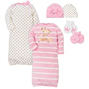 Gerber Baby Girls Layette Bundle, Princess, 0-6 Months