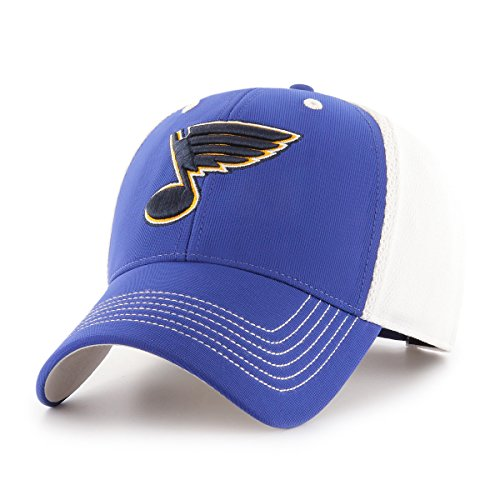 NHL St. Louis Blues Sling OTS All-Star MVP Adjustable Hat, Royal, One Size