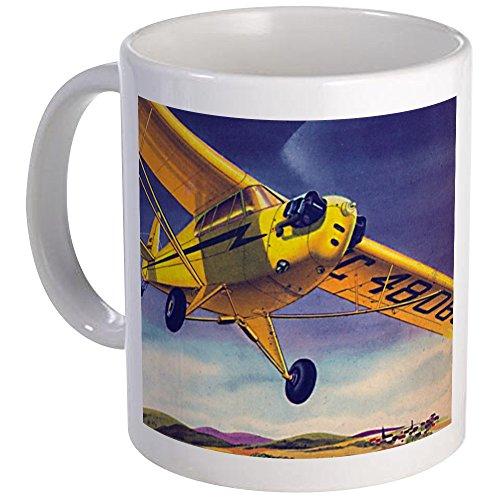 CafePress Piper Cub In Flight Mug Unique Coffee Mug, Coffee Cup ()
