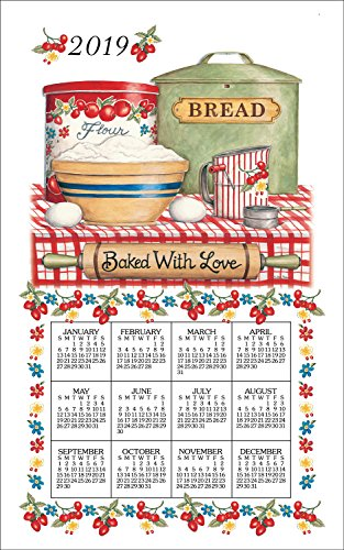 2020  Baked with Love Calendar Towel