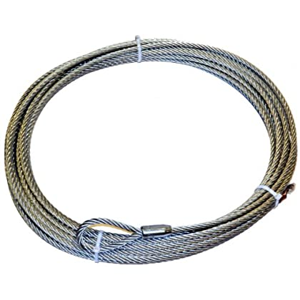 Image of WARN 61950 Winch Rope - 7/16 in. x 90 ft. Cable & Wire Rope
