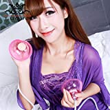 LTD Luoge Breast Massager Female Masturbation Sucking Vibrating Breast Enhancer Enlargement Pump Suction Cups Sex Toys for Women