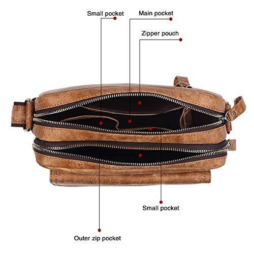 Bandoulière Épaule Rétro Bag Femmes De Hommes Portés Redwall®nouveau Sport Ecole Laptop Sacs Brown Sac Toile Cartable Travail Messenger Briefcase B0SqRfwx