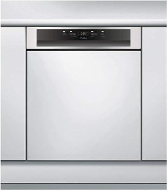 Lave Vaisselle Encastrable Whirlpool Wbc3c26x Lave Vaisselle Integrable 60 Cm Classe A 46 Decibels 14 Couverts Integrable Bandeau Inox Amazon Fr Gros Electromenager