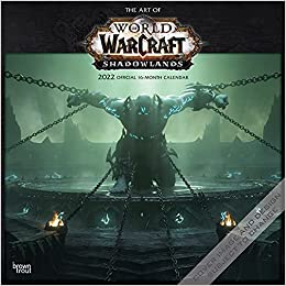 Wow Calendar 2022.World Of Warcraft 2022 12 X 12 Inch Monthly Square Wall Calendar Video Game Blizzard Entertainment Wow Browntrout Publishers Inc Browntrout Publishers Editing Team Browntrout Publishers Design Team Browntrout Publishers Design Team