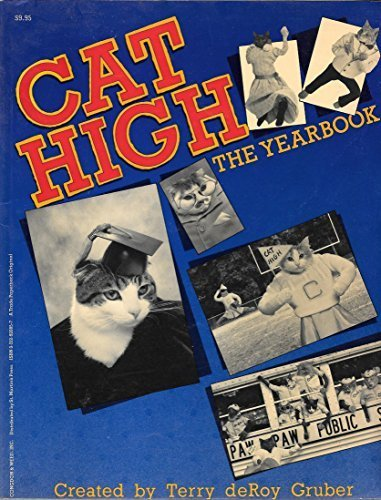 Cat High: The Yearbook Paperback - Cover Yearbook