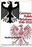 img - for German-Polish Relations, 1918-1933 book / textbook / text book