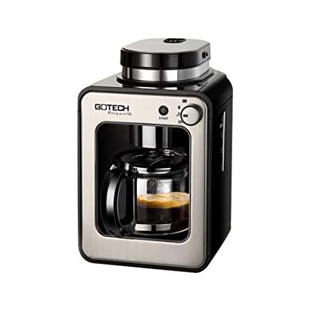 Cafetera de filtro para molinillo de café y cafetera (600 W, 580 ...