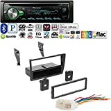 Pioneer 1DIN CAR MP3 CD Stereo W/USB AUX-in Bluetooth & Pandora+ W/Ai HONK809 Single DIN Installation Dash Kit for Select 2001-2005 Honda Civic Vehicles