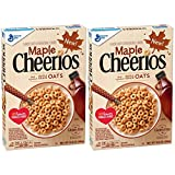 Maple Cheerios Cereal, 10.8 oz (Pack of 2)