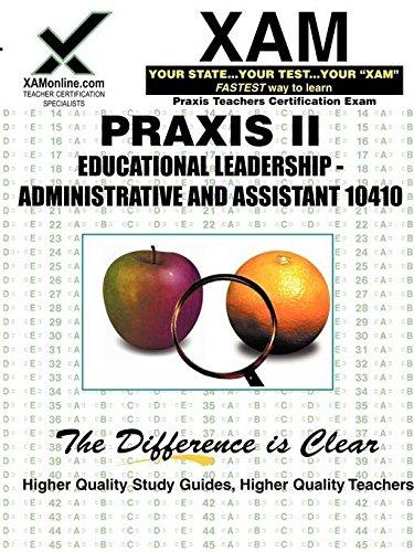 praxis ii educational leadership - 8