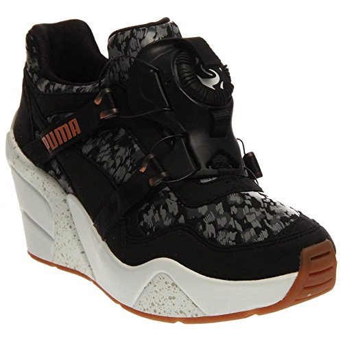 PUMA Trinomic XS Wedge NC Black Women's Shoes Footwear Reviews