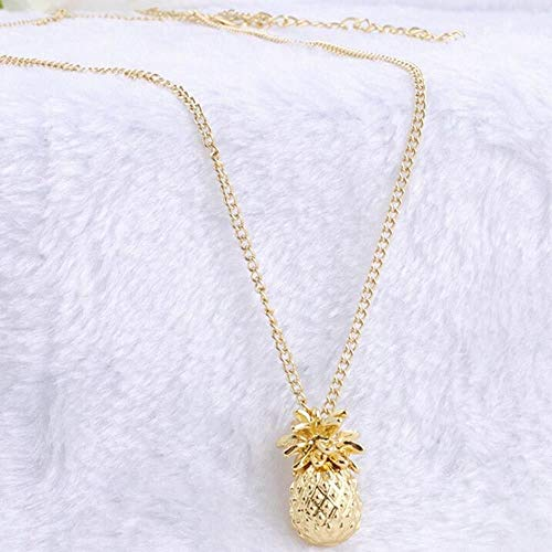 elry Fashion Pendant Necklace Pineapple Gift Women ()
