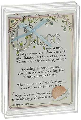 Child to Cherish Baby To Bride Bracelet (Things To Write In A Christening Card)