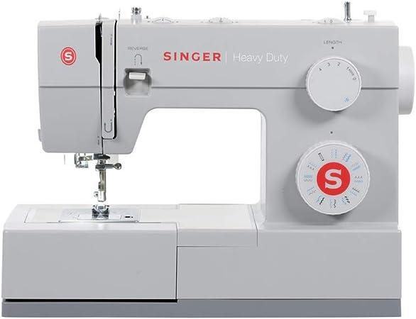 SINGER Heavy Duty - Máquina de coser (Gris, Máquina de coser automática, Costura, 1 paso, Variable, Variable ...