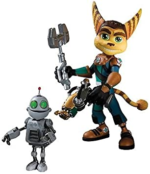 Ratchet And Clank Ratchet With Transforming Clank Figure Amazon